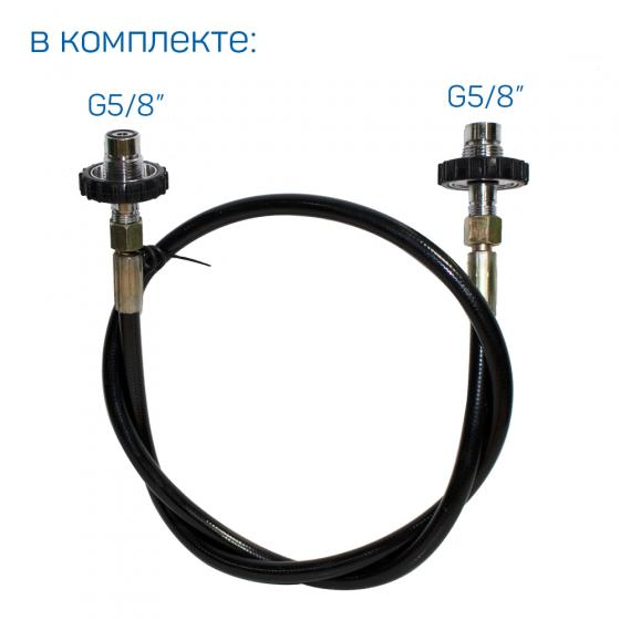 Компрессор высокого давления FROSP КВД 265/200 с бензиновым двигателем Honda GX390