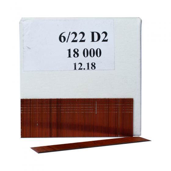 Шпилька 6/22 D2, 22 мм, 18000шт