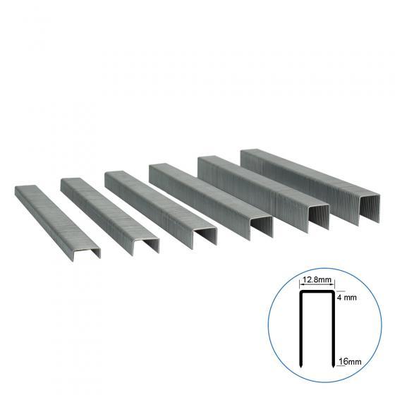 Мебельная скоба 80A/14 усиленная, 12.8х14 мм, 11200шт / Техмаш