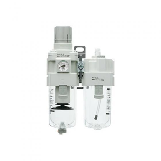 Блок подготовки сжатого воздуха SMC AC G1/2 с ручным сливом [AC40A-F04-B]