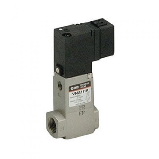 """2/2 Клапан Н.З., G1/4"""", 24VDC  SMC [VNA111A-F8A-5D-B-Q]"""