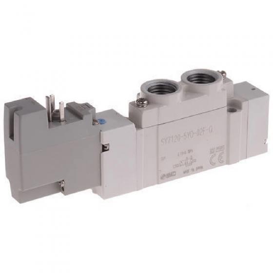 "Пневмораспределитель G 1/4"", 24VDC SMC [SY7120-5YO-02F-Q]"