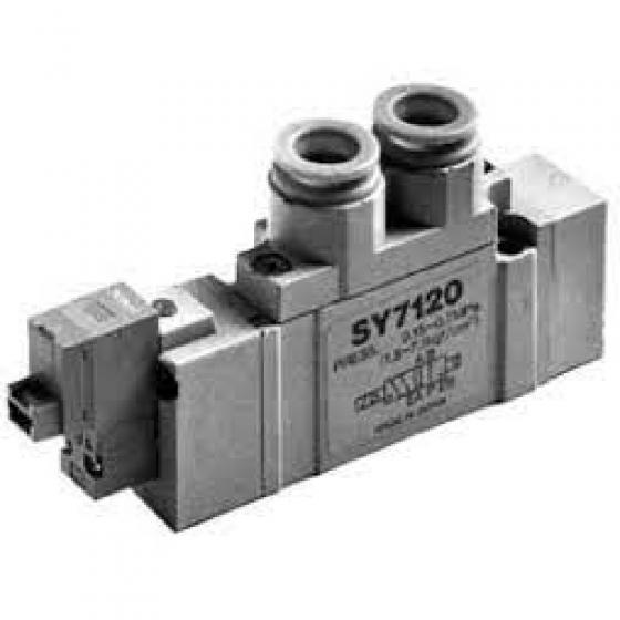 5/2-Пневмораспределитель, б/р 10, 24VDC SMC [SY7120-5YO-C10F-Q]