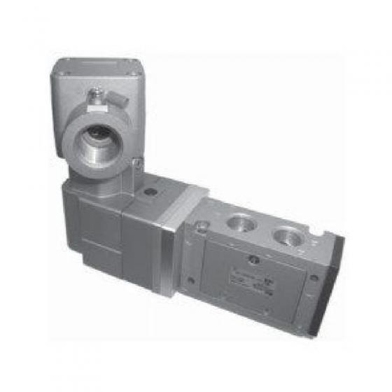 Пневмораспределитель G3/8″, 24VDC SMC [50-VFE3120-5TD-03F-Х81]