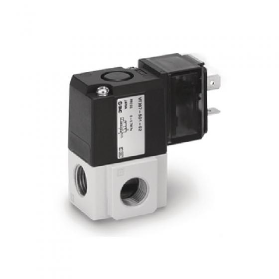"3/2-Пневмораспределитель, G1/4"", 24VDC SMC [VT307-5DO1-02F-Q]"