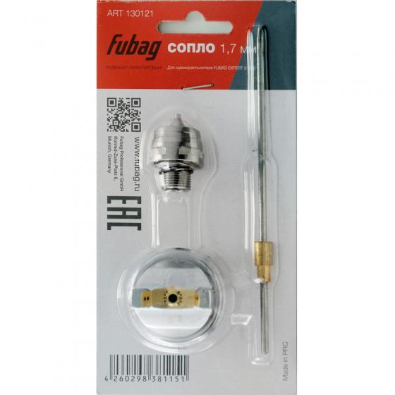 Сопло 1.7 мм для краскораспылителя FUBAG EXPERT S1000 (игла_головка_сопло)