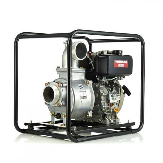 Дизельная мотопомпа для сильно-загрязненных вод DaiShin SST-100YD