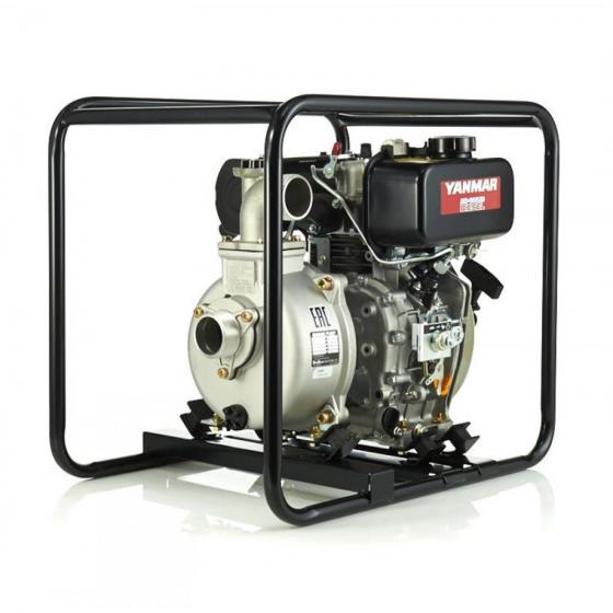 Дизельная мотопомпа для сильно-загрязненных вод DaiShin SST-50YD