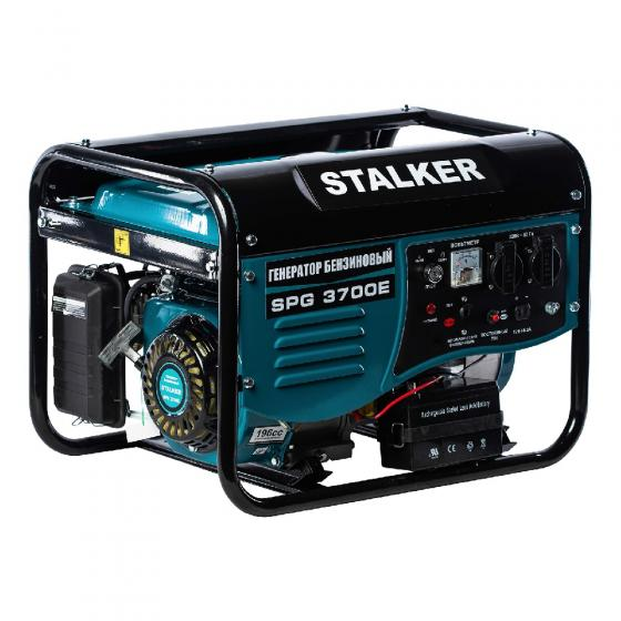 Бензиновый генератор Stalker SPG 3700 E