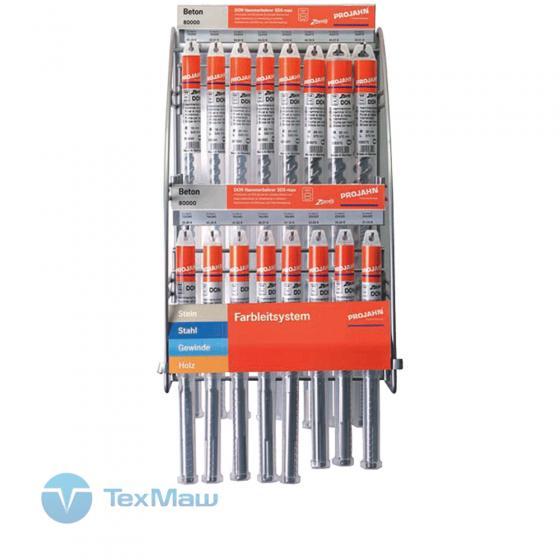 Стенд с бурами для перфораторов SDS max (14 шт.) Projahn 11611-03