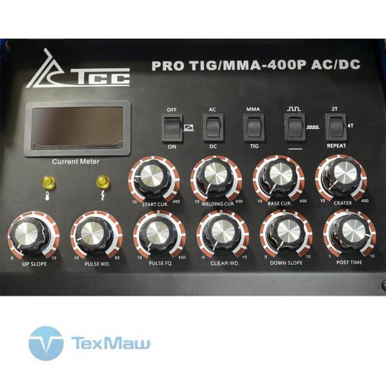 Сварочный инвертор ТСС PRO TIG/MMA-400P AC/DC