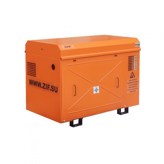 Винтовой компрессор ЗИФ СВЭ-5,2/1,0 в кожухе