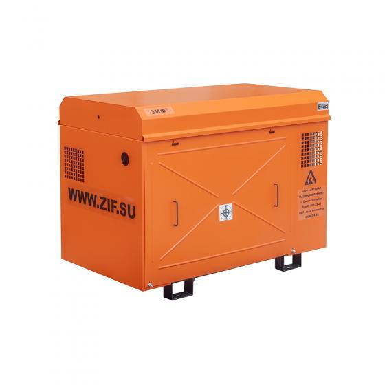 Винтовой компрессор ЗИФ СВЭ 7,2/1,0 в кожухе