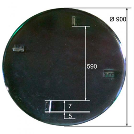 Диск для ТСС DMD,DMR 900,1000 (D=900)