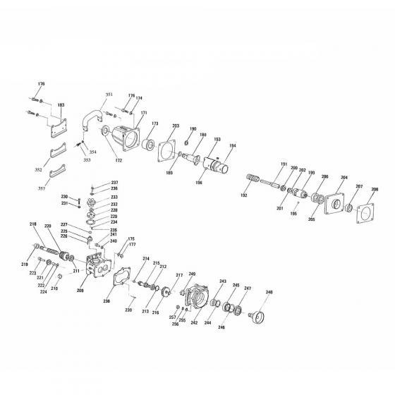 Втулка, вал подшипника/Bushing, Bearing Shaft для Vessel GT-3500GE [845219]