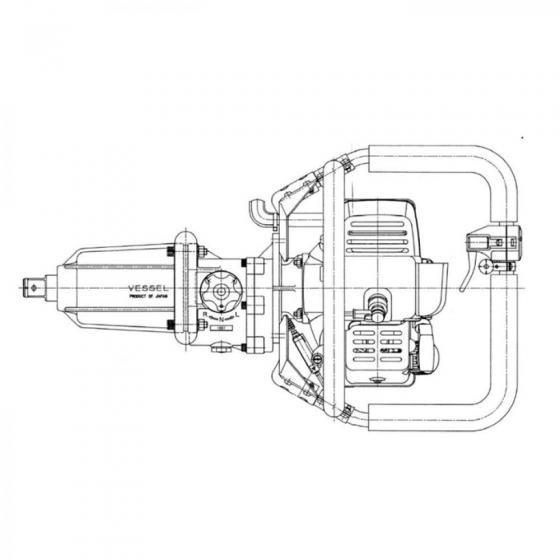 Винт/SCREW 5X14PS для Vessel GT-3500GE [845042]