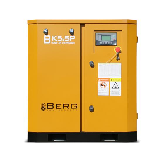 Винтовой компрессор Berg ВК-5.5Р - 12 бар