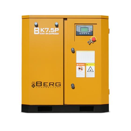 Винтовой компрессор Berg ВК-7.5Р - 8 бар