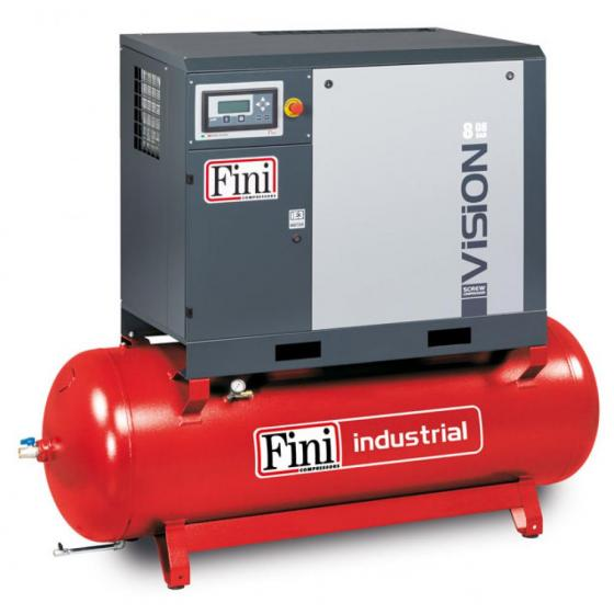 Винтовой компрессор на ресивере с осушителем FINI VISION 813-500F-ES