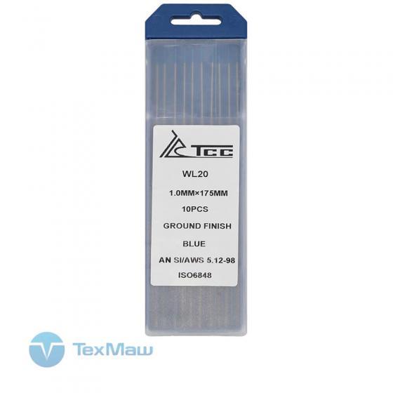 Вольфрамовый электрод ТСС синий WL20-175/1,0 (10 шт)