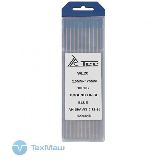 Вольфрамовый электрод ТСС синий WL20-175/2,0 (10 шт)