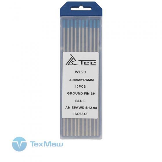 Вольфрамовый электрод ТСС синий WL20-175/3,2 (10 шт)