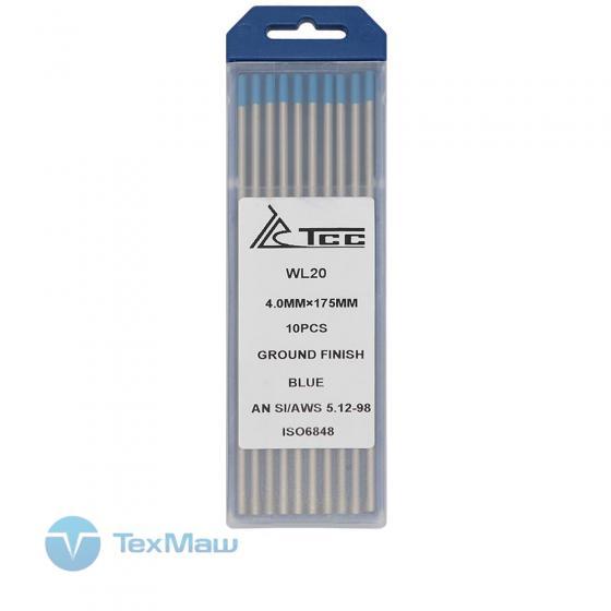 Вольфрамовый электрод ТСС синий WL20-175/4,0 (10 шт)