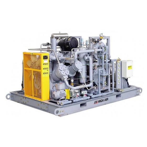 Промышленный компрессор высокого давления FROSP КВД-HE-2,5A для перекачки воздуха, гелия, азота